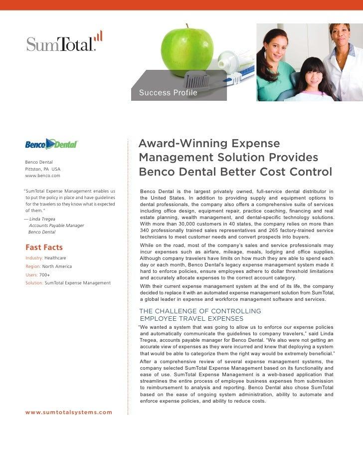 Sum t casestudy_benco_dental