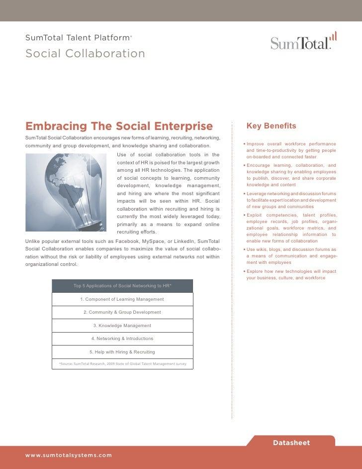 Sumt Social Collaboration Software