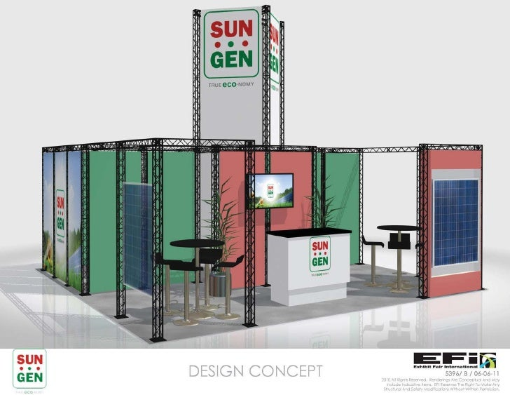 Truss display design concept by exhibit fair international for Decor products international inc
