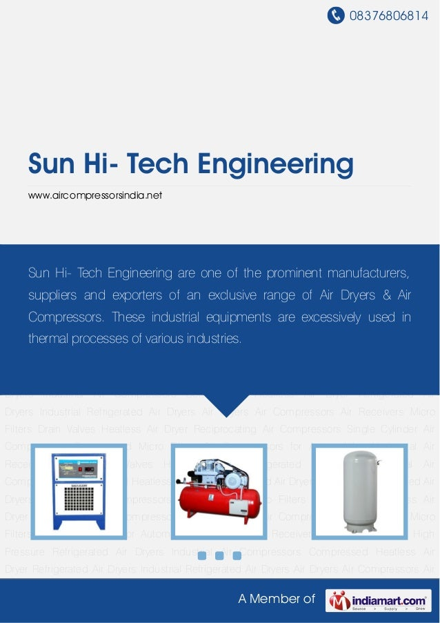 Air Compressors by Sun hi-tech-engineering