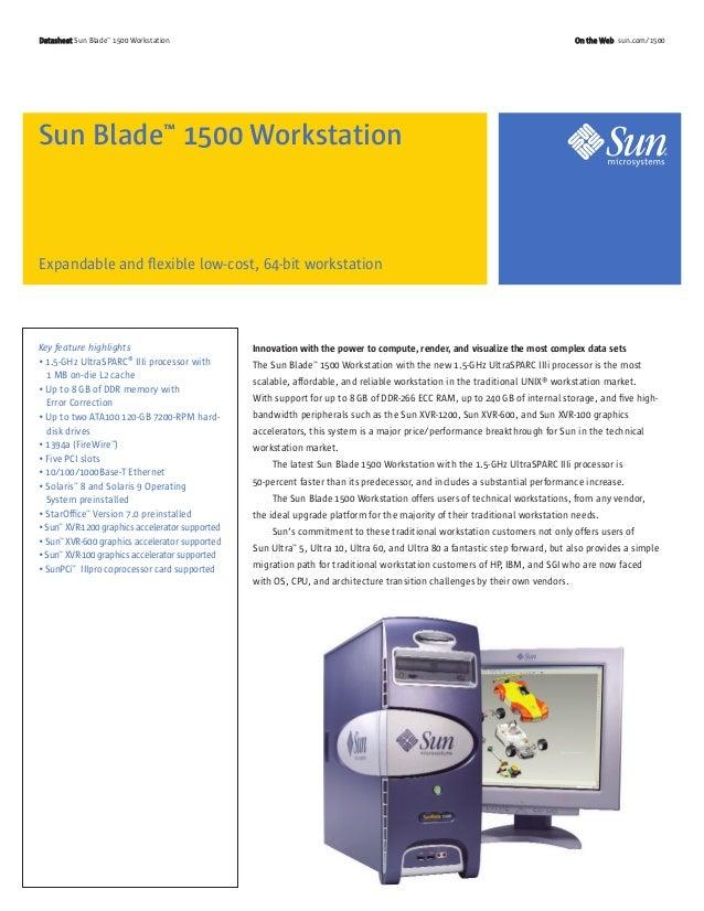 Sun blade1500