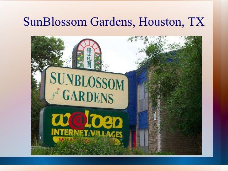 SunBlossom Gardens, Houston, TX