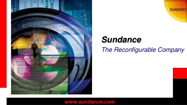 Sundance Profile 2014