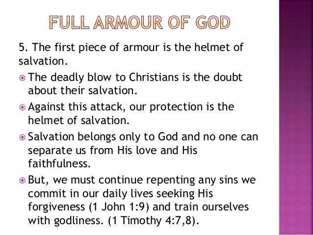 armour of god quotes