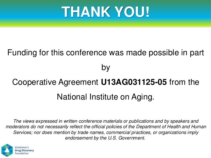 THANK YOU!Funding for this conference was made possible in part                                              by   Cooperat...