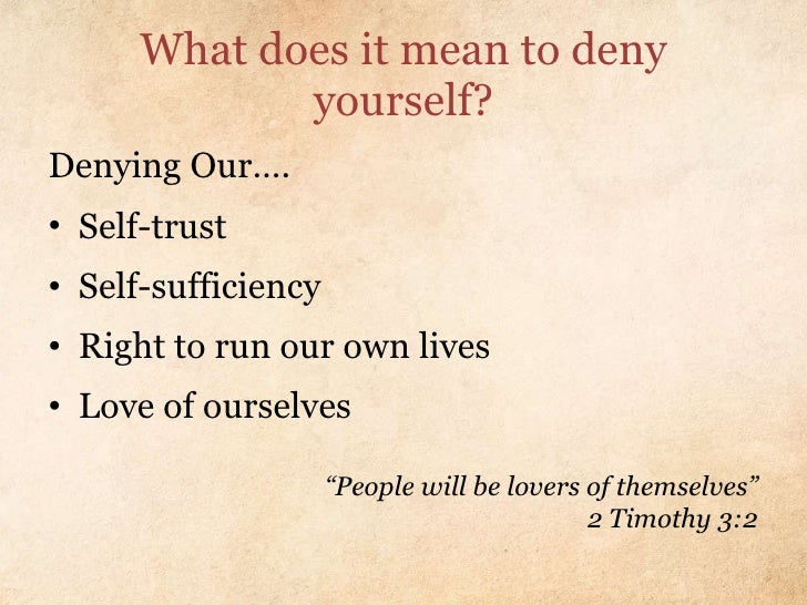 What does it mean to be yourself?