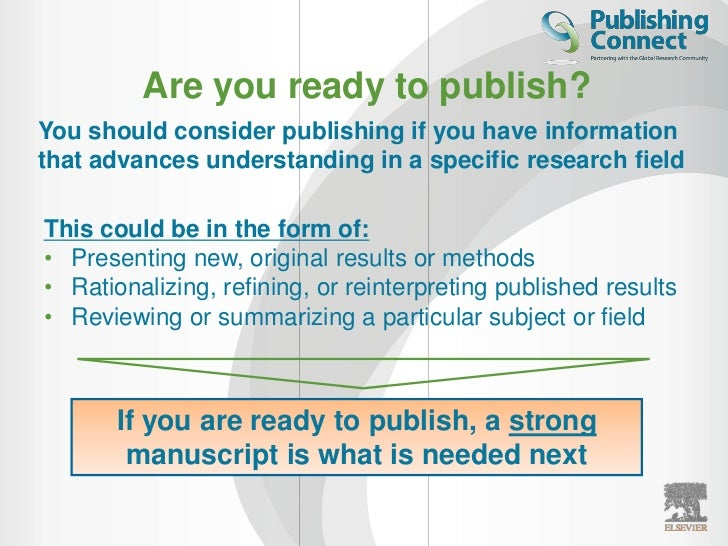 How to prepare an article for publication
