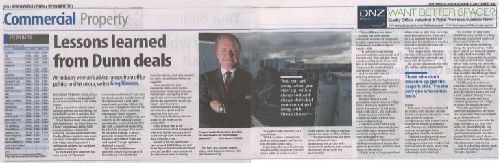Sunday Star Times Article