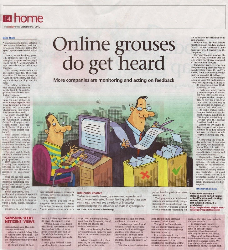 The Sunday Times (5 Sept 2010)