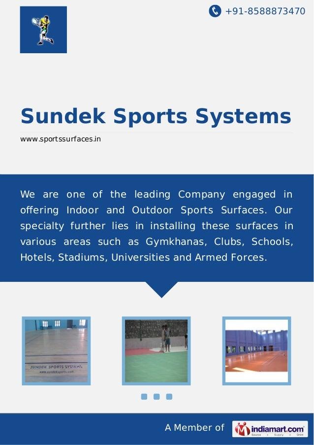 Sundek sports-systems