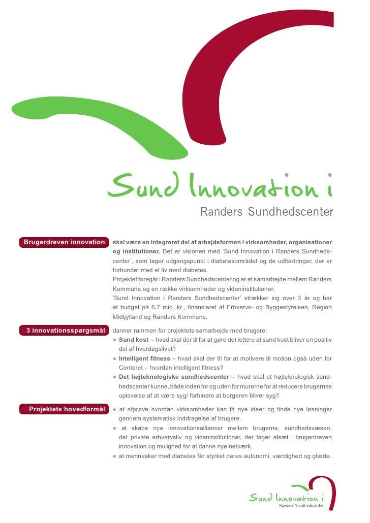 Sund Innovation i Randers Sundhedscenter