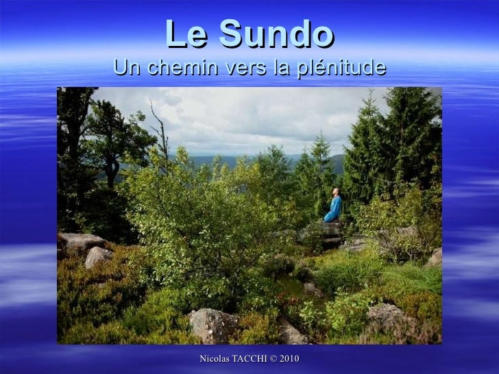 Sundo présentation web