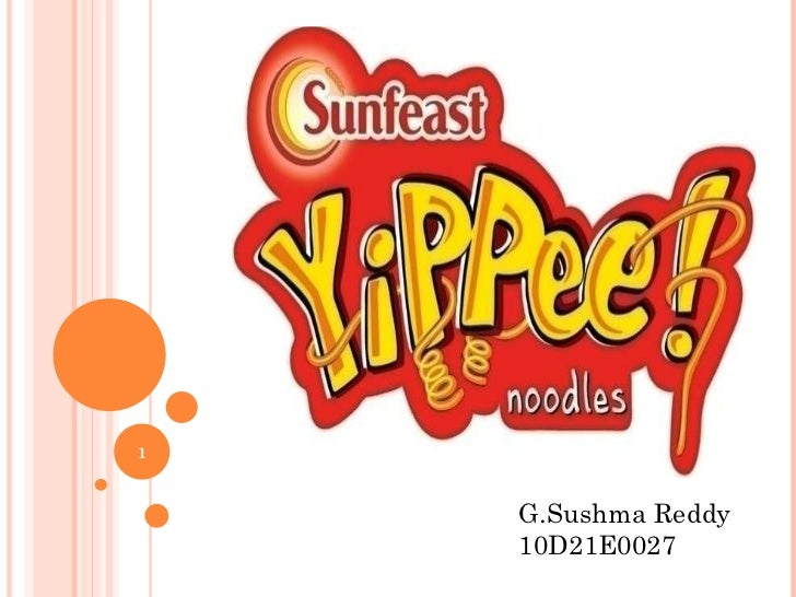 Sunfeast yippee noodles