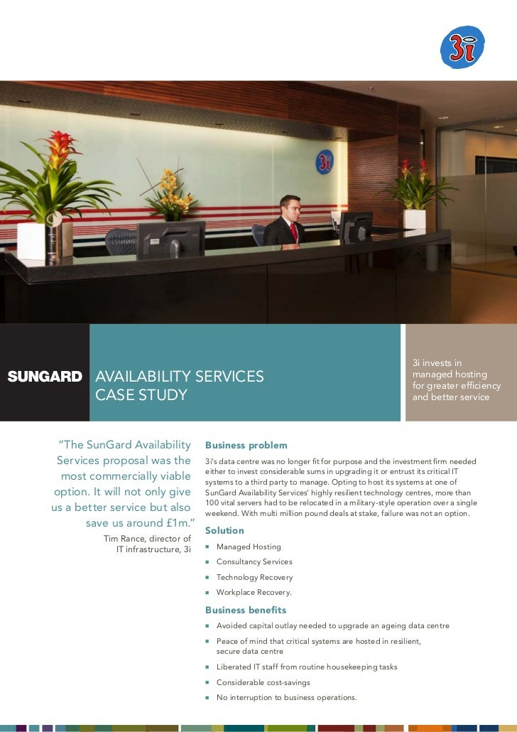 3i invests in           AVAILABILITY SERVICES                                                                    managed h...