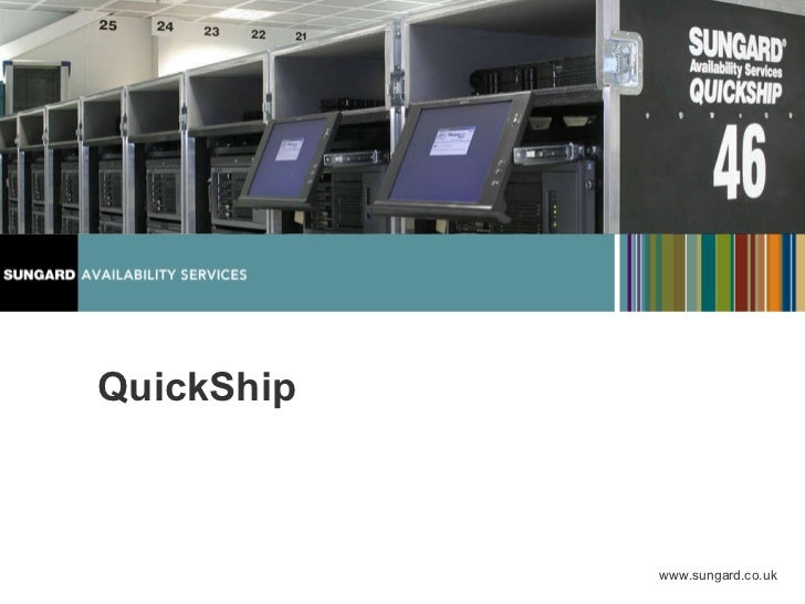 SunGard Quickship - Recovery Services