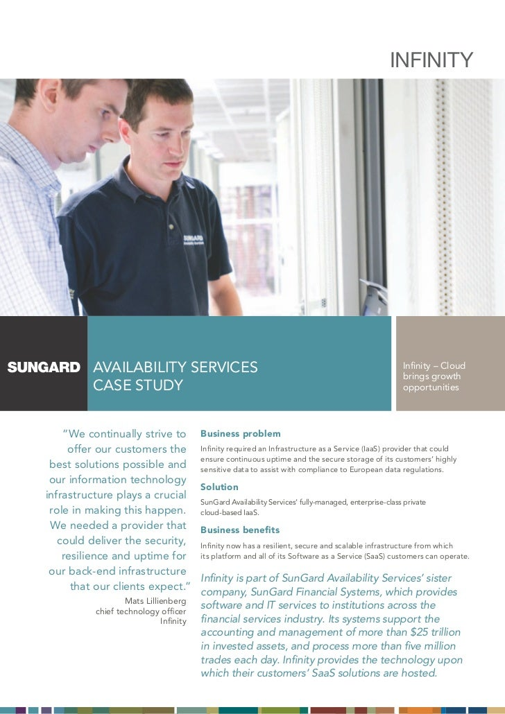 SunGard Case Study Infinity