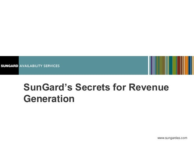 SunGard's Marketing Secrets for Revenue and Sales Alignment