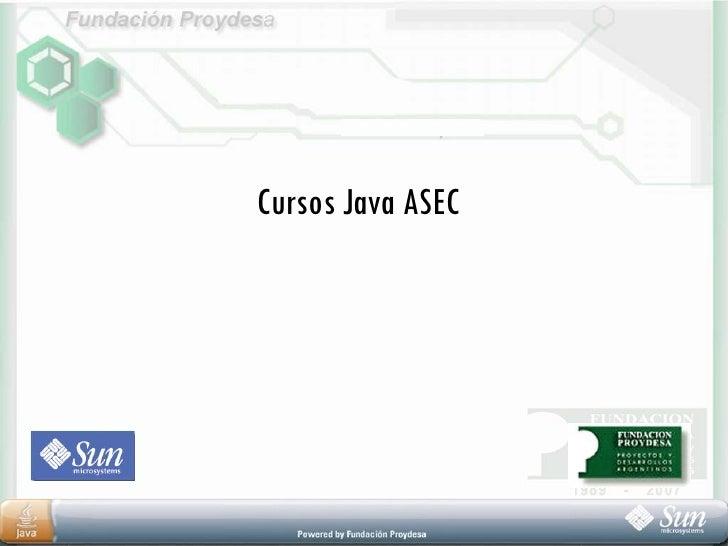 Cursos Java ASEC