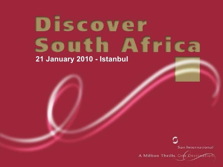 Sun Interantional Event - Discover South Africa Presentation
