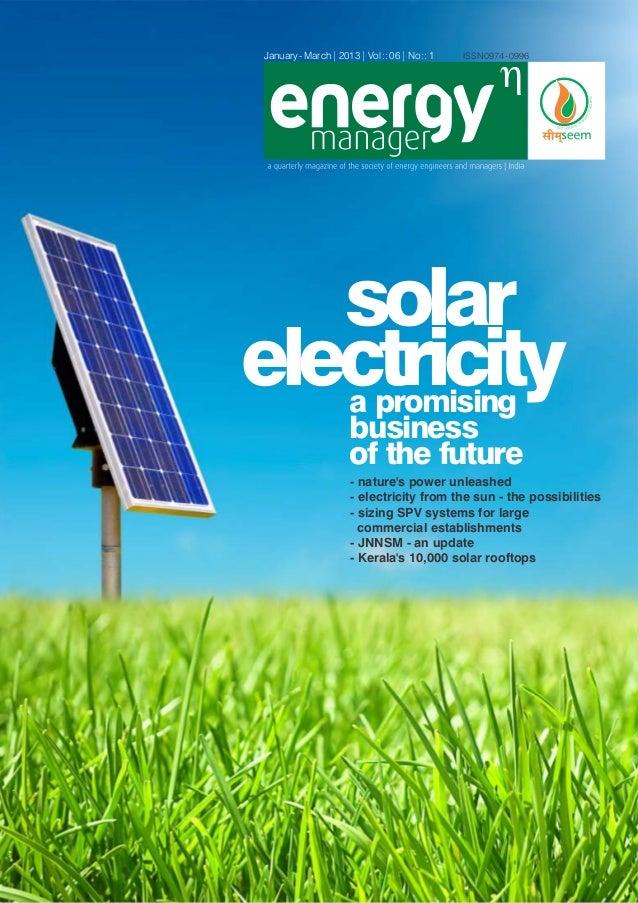 Sunitedgroup dans Energy Manager Jan/Mars 2013