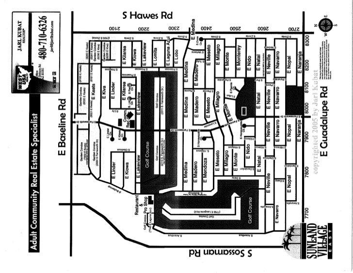 Sunland village East / Homes - Floor Plans