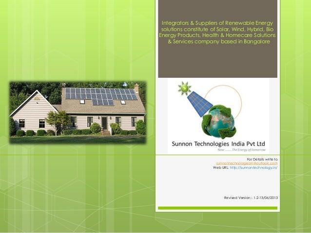 Sunnon technologies client product presentation_last updated_ 17_june2013