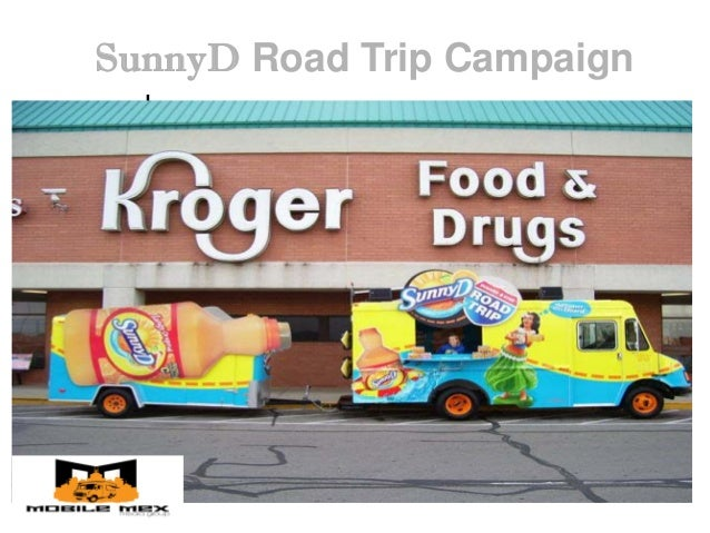 SunnyD Food Truck Promotions Tour