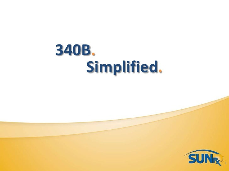 Sun Rx Overview Presentation