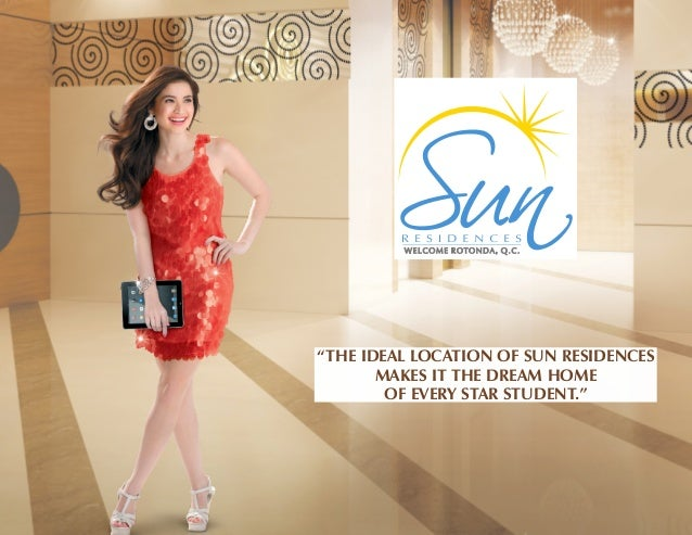 """THE IDEAL LOCATION OF SUN RESIDENCES MAKES IT THE DREAM HOME OF EVERY STAR STUDENT."""