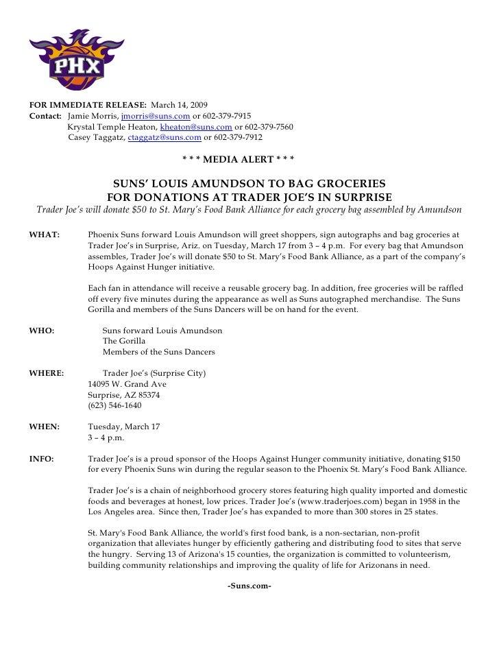 phoenix press releases