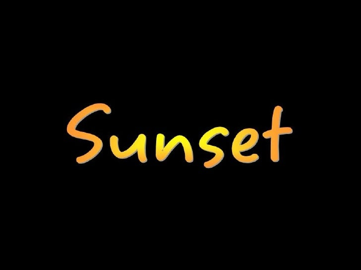 Sunset 1 Lolo