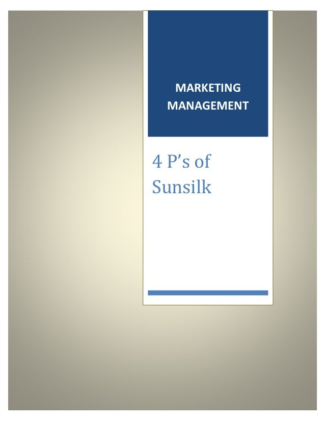 sunsilk marketing report Integrated marketing communication report on sunsilk by mazahir7ali in types creative writing, project, and report.