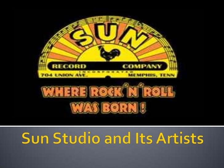 Sun studios project 6