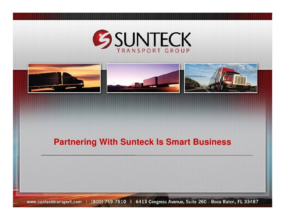Partnering With Sunteck Is Smart Business