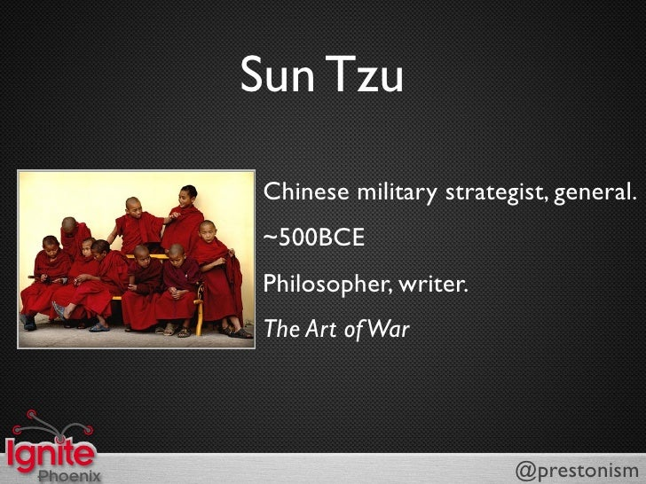 Sun Tzu: The Art Of...Business?