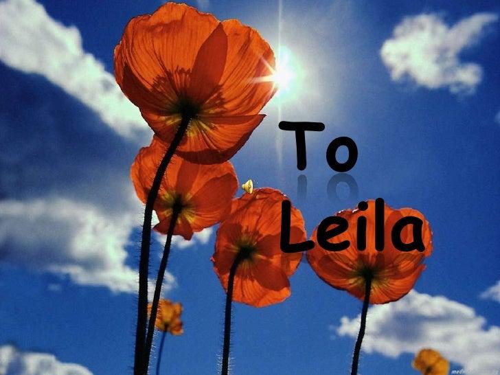 ToLeila<br />