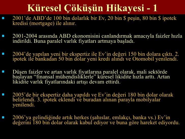 Küresel Ekonomi Krizi ve Türkiye
