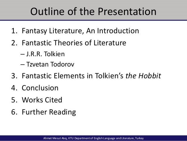 an analysis of the fantasy in jrr tolkiens the hobbit Tolkien's political views  verlag was preparing to release the hobbit in nazi  tolkien expert which attempts a socio-political analysis of middle.