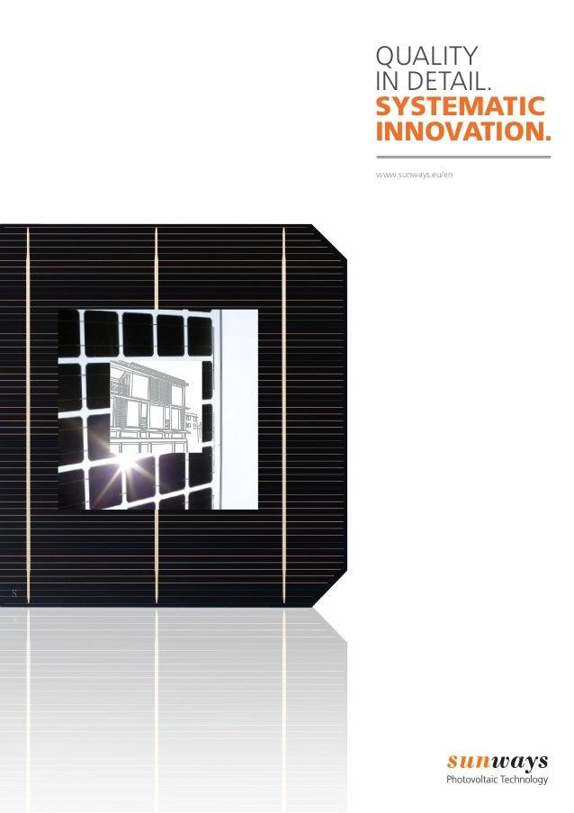 Sunways solar-panels-inverters
