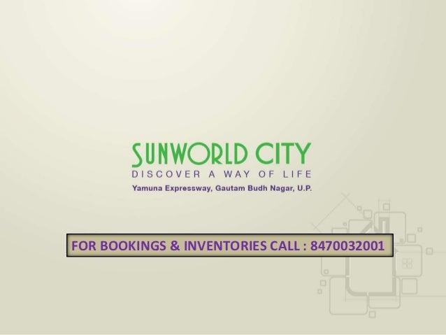 Sunworld city   8470032001