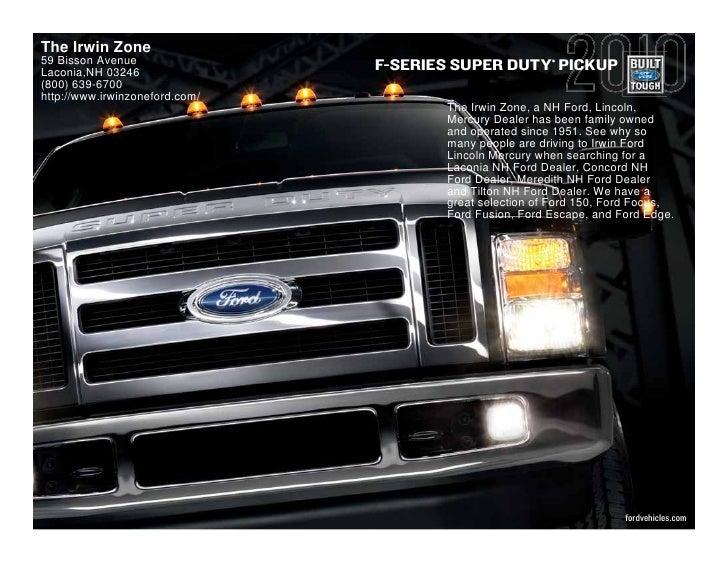 2010 Ford Super Duty Laconia
