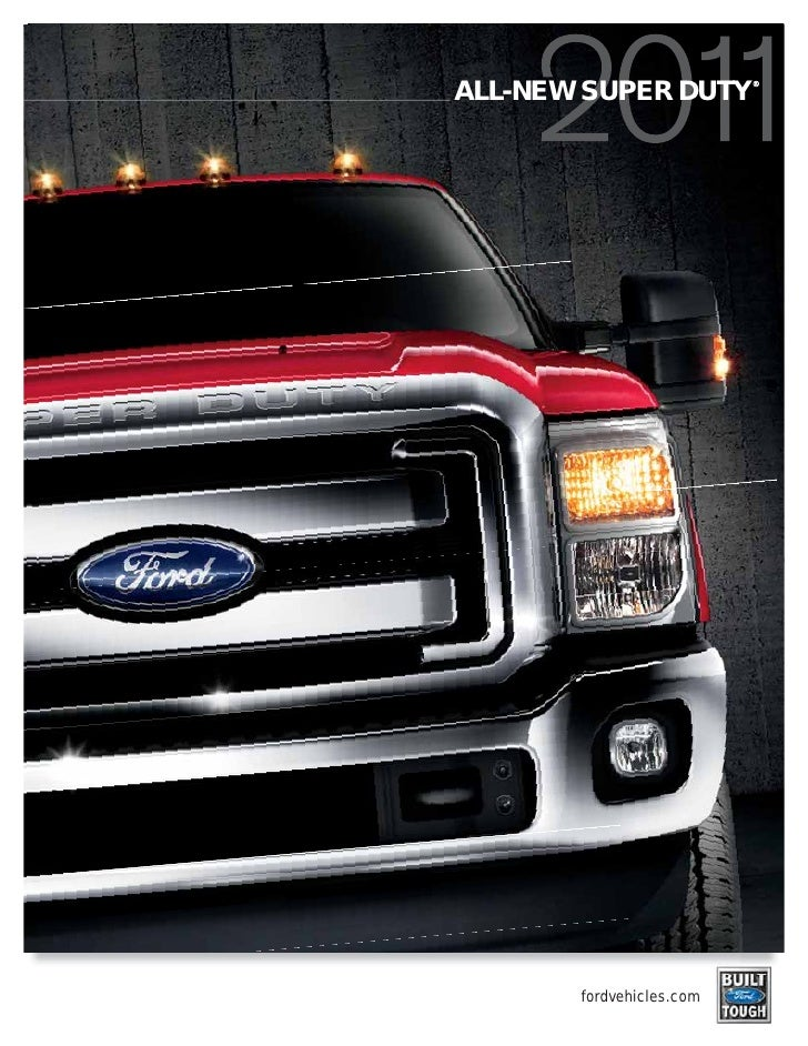 2011 Ford Super Duty brochure