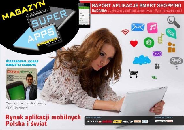 yn az ag m d  paź  3  /201  nik zier  RAPORT APLIKACJE SMART SHOPPING  (1)  BADANIA: Użytkownicy aplikacji zakupowych, Ryn...