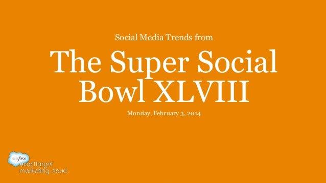 Super Social Bowl XLVIII
