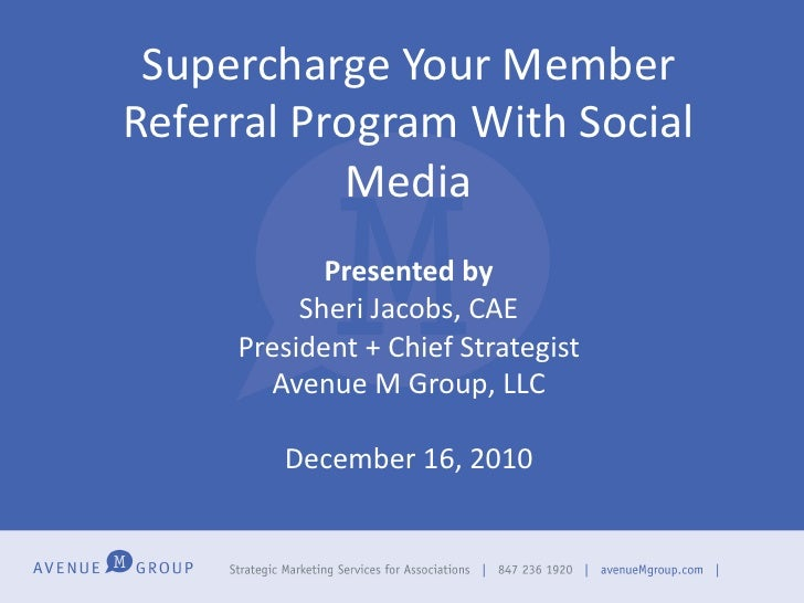 Supercharge Your Member Referral Program With Social                Media                               ...