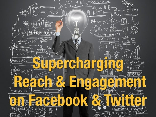 Supercharging! Reach & Engagement ! on Facebook & Twitter