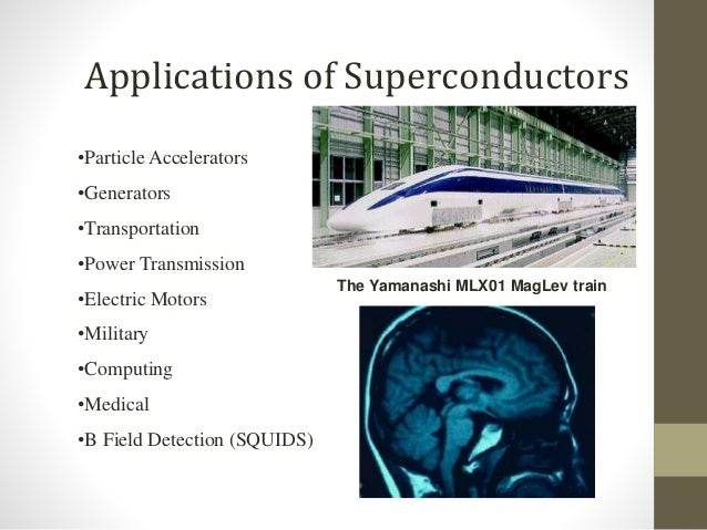 Superconductors And Their Applications