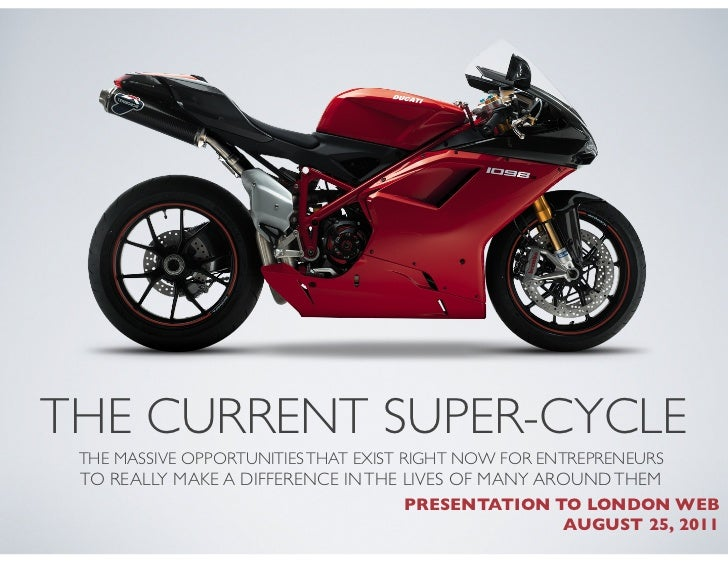 The Current Super-Cycle