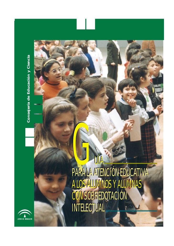 Consejería de Educación y Ciencia                                         G       UÍA                                     ...