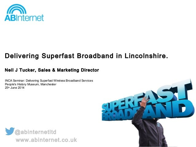 Superfast wireless in Lincolnshire